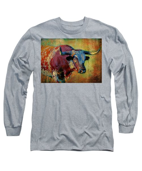 Hook 'em 2 Long Sleeve T-Shirt by Colleen Taylor