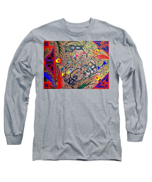 Hookah Monkeys - Jinga Monkeys Series Long Sleeve T-Shirt