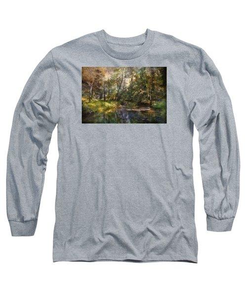 Hopkins Pond, Haddonfield, N.j. Long Sleeve T-Shirt