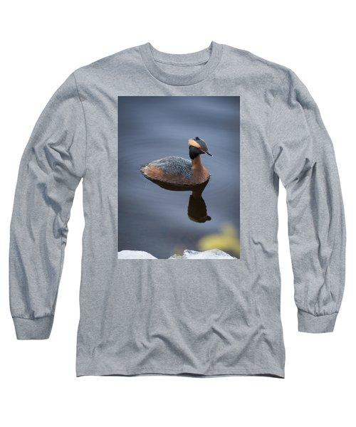 Horned Grebe Long Sleeve T-Shirt