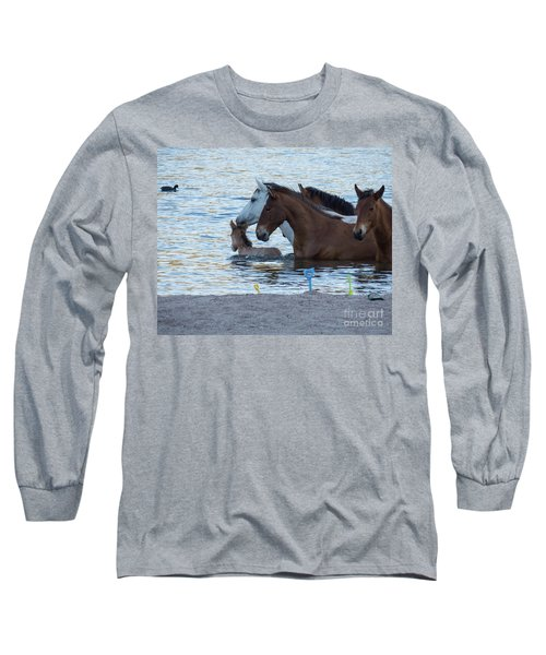 Horse 6 Long Sleeve T-Shirt