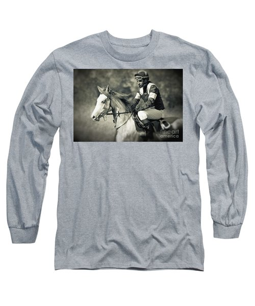 Horse And Jockey Long Sleeve T-Shirt