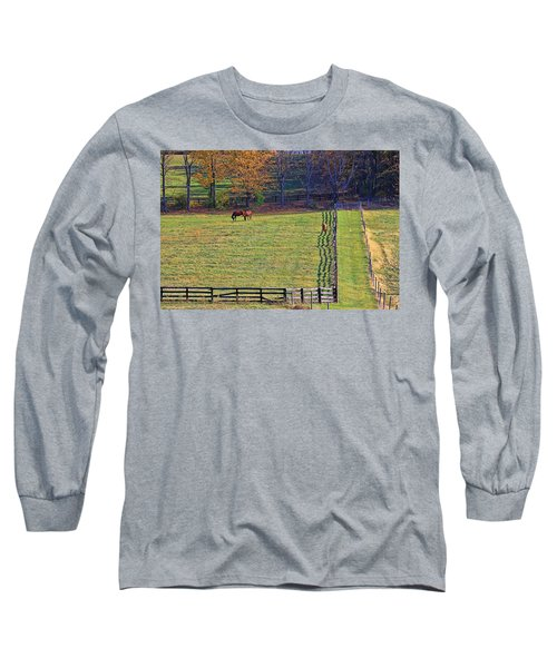 Horse Country # 2 Long Sleeve T-Shirt