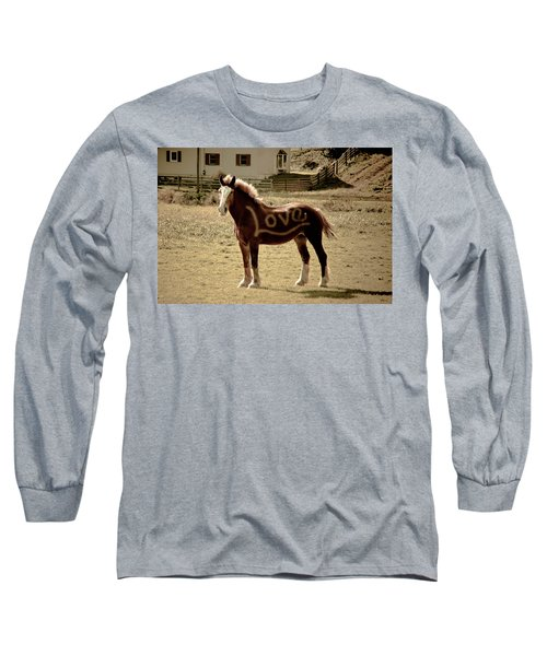 Horse Love Long Sleeve T-Shirt
