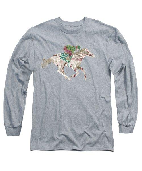 Horse Racer Long Sleeve T-Shirt