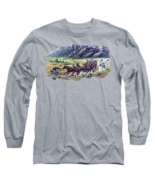 Horses And Motorcycles Long Sleeve T-Shirt