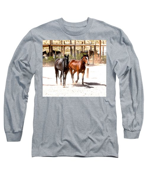 Horses Unlimited_6a Long Sleeve T-Shirt