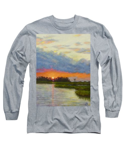 Horseshoe Cove Sunset Long Sleeve T-Shirt