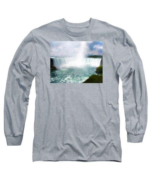 Horseshoe Falls - Niagara Falls Long Sleeve T-Shirt