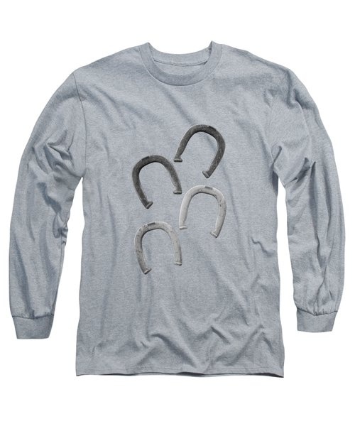 Horseshoes Set Long Sleeve T-Shirt