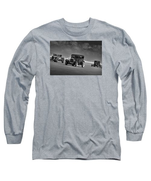Hot Rods At Pendine 15 Long Sleeve T-Shirt