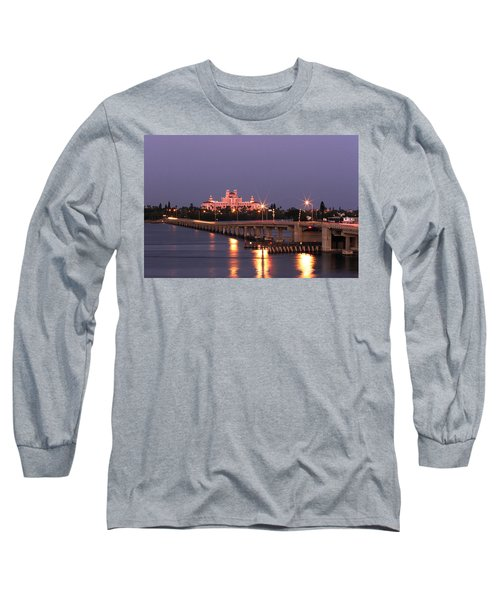 Hotel Don Cesar The Pink Palace St Petes Beach Florida Long Sleeve T-Shirt