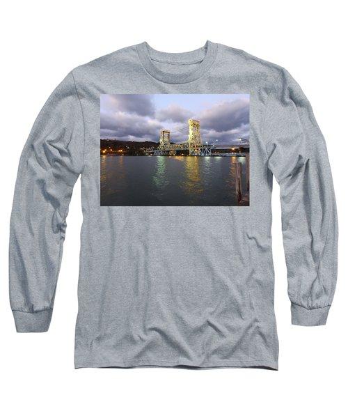 Houghton - Hancock Bridge Long Sleeve T-Shirt