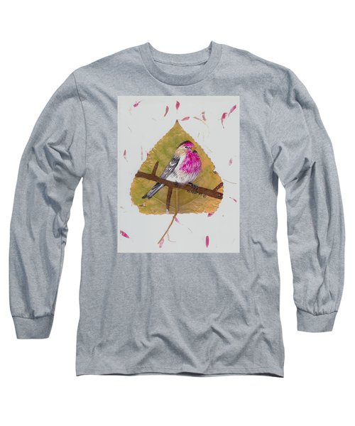 House Finch Long Sleeve T-Shirt by Ralph Root