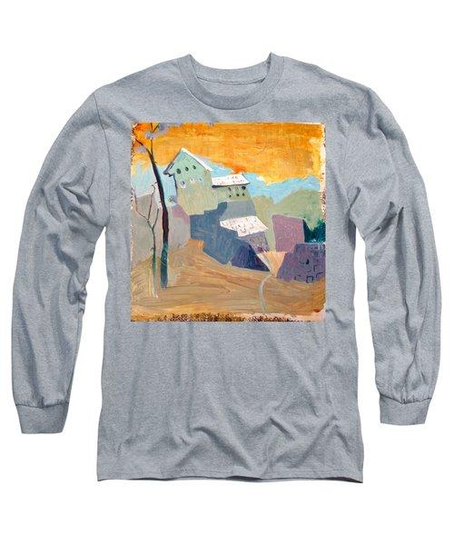 House On A Hill Long Sleeve T-Shirt