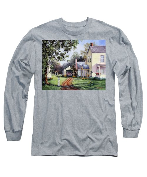 House On Bird Street Long Sleeve T-Shirt