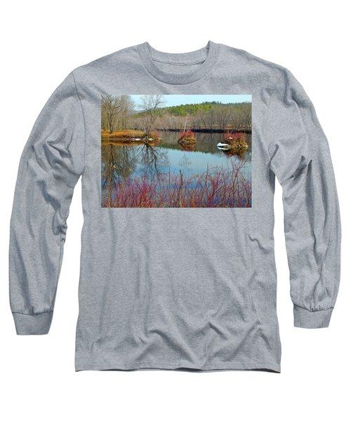 Housesitting 41 Long Sleeve T-Shirt by George Ramos