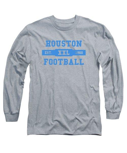 Houston Oilers Retro Shirt Long Sleeve T-Shirt