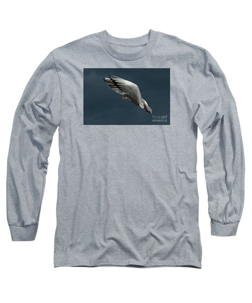 Long Sleeve T-Shirt featuring the photograph Hover  by Gary Bridger