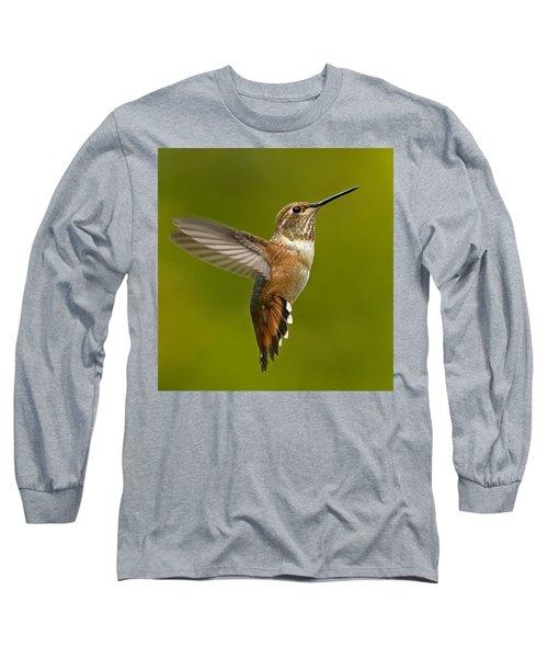 Hover Long Sleeve T-Shirt by Sheldon Bilsker