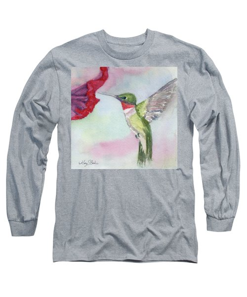 Hovering Ruby Long Sleeve T-Shirt