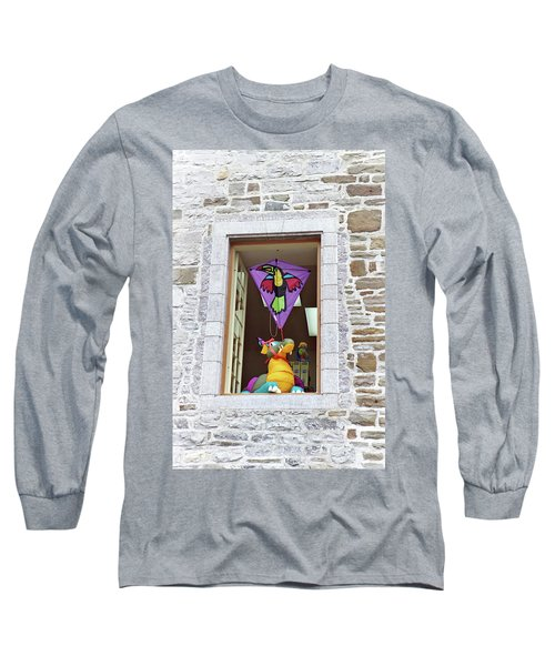 Long Sleeve T-Shirt featuring the photograph How Much Is That Dragon In The Window by John Schneider