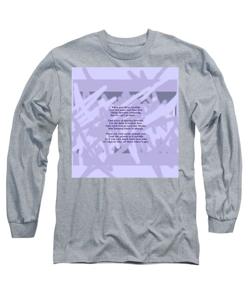 How Now Poem Long Sleeve T-Shirt