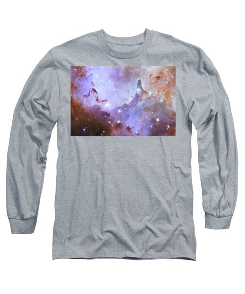 Long Sleeve T-Shirt featuring the photograph Hubble Space Telescope Celebrates 25 Years Of Unveiling The Universe by Nasa