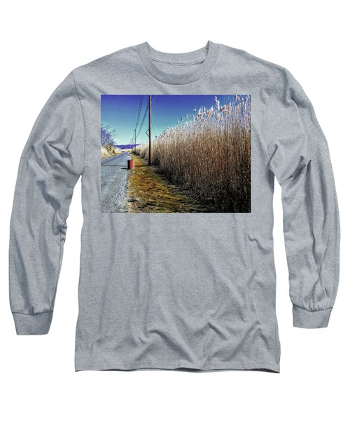 Hudson River Winter Walk Long Sleeve T-Shirt
