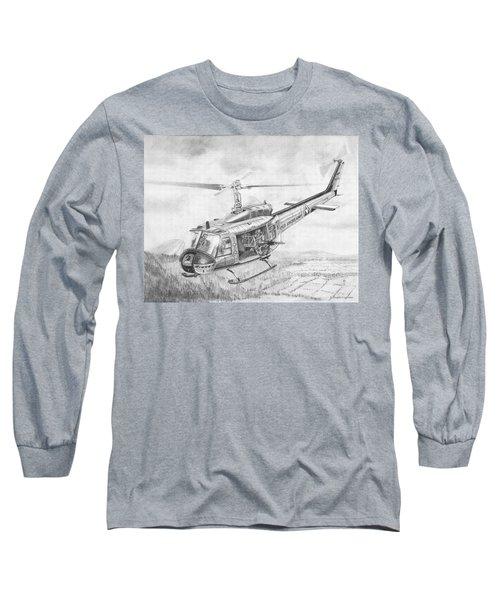 Huey In Vietnam Long Sleeve T-Shirt