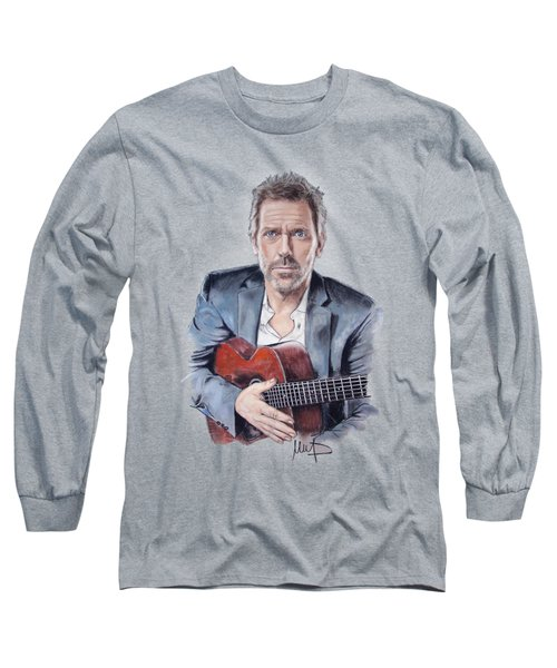 Hugh Laurie Long Sleeve T-Shirt