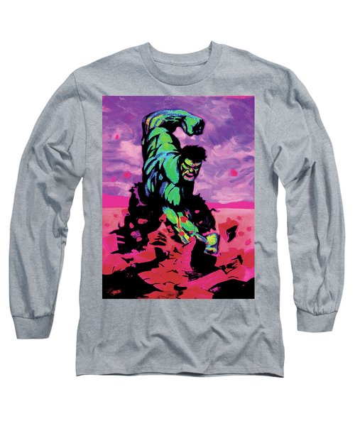 Hulk Smash Long Sleeve T-Shirt