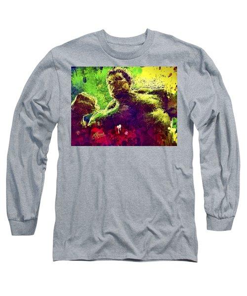 Hulk Smash Long Sleeve T-Shirt