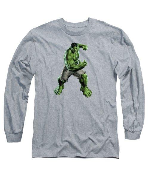 Hulk Splash Super Hero Series Long Sleeve T-Shirt