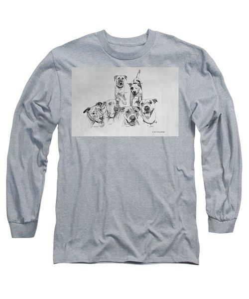 Humane Society Gang Long Sleeve T-Shirt