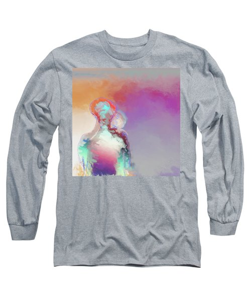 Humanoid Couple On Cloud Nine Long Sleeve T-Shirt
