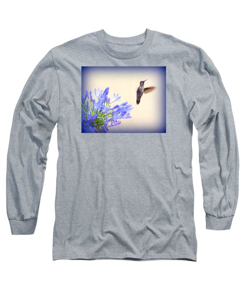 Hummer In Blue Long Sleeve T-Shirt