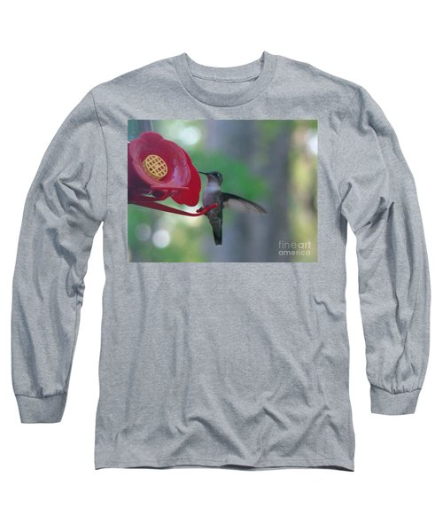 Long Sleeve T-Shirt featuring the photograph Hummingbird  by Rand Herron