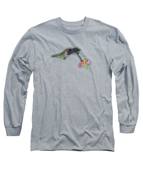 Hummingbird Tee-shirt Long Sleeve T-Shirt