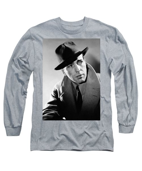 Humphrey Bogart Long Sleeve T-Shirt by Mountain Dreams