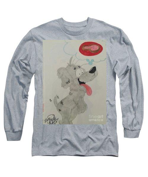 Hungry Dog Long Sleeve T-Shirt