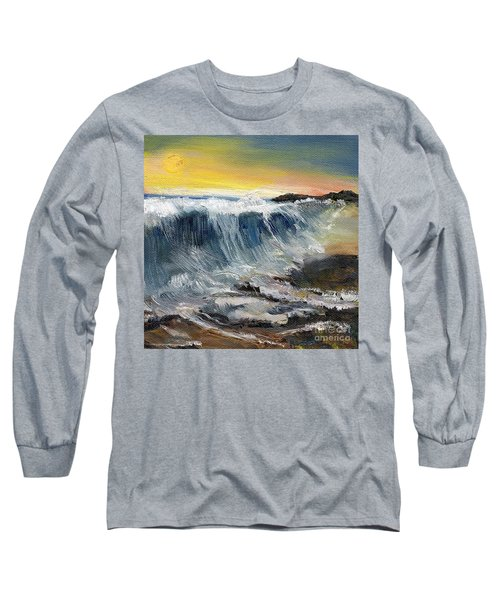 Hunter's Moon Long Sleeve T-Shirt by Randy Sprout
