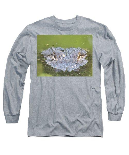 Hunters Stare Long Sleeve T-Shirt by Kimo Fernandez