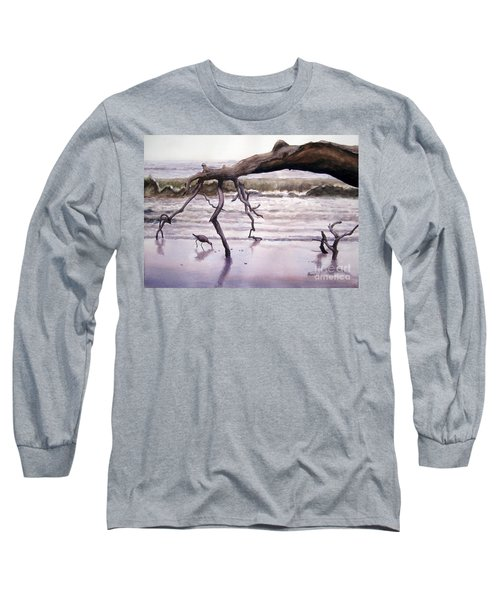 Hunting Island Sculpture Long Sleeve T-Shirt
