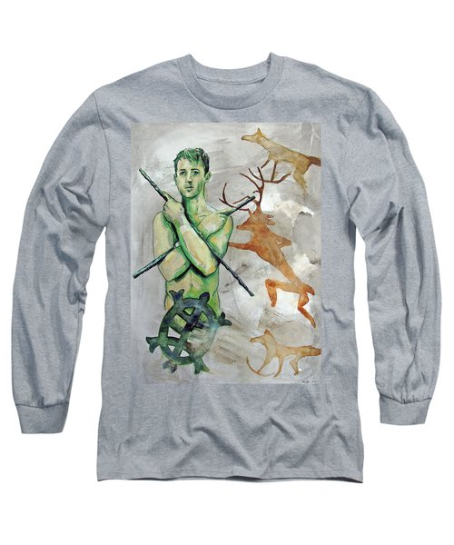 Youth Hunting Turtles Long Sleeve T-Shirt