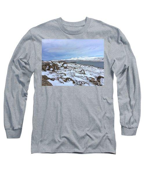 Hvalfjoerdurs Wintersun Long Sleeve T-Shirt