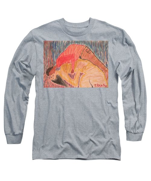 Hybrid's Are Coming Long Sleeve T-Shirt by Jose Rojas