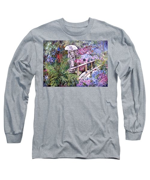 Hydrangea In The Formosa Gardens Long Sleeve T-Shirt