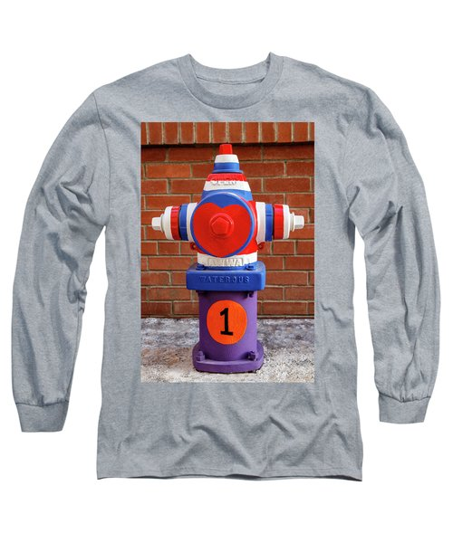 Long Sleeve T-Shirt featuring the photograph Hydrant Number One by James Eddy
