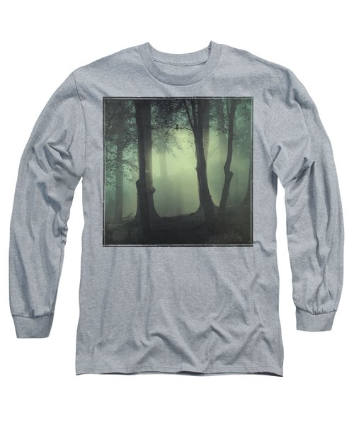 I Am Not My Usual Self - Foggy Forest Long Sleeve T-Shirt